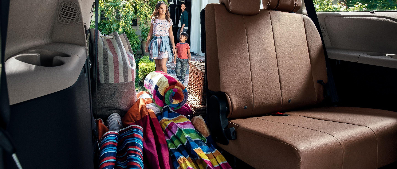 2020 Toyota Sienna Cargo Space