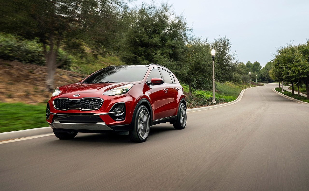 What is the 2020 Kia Sportage?