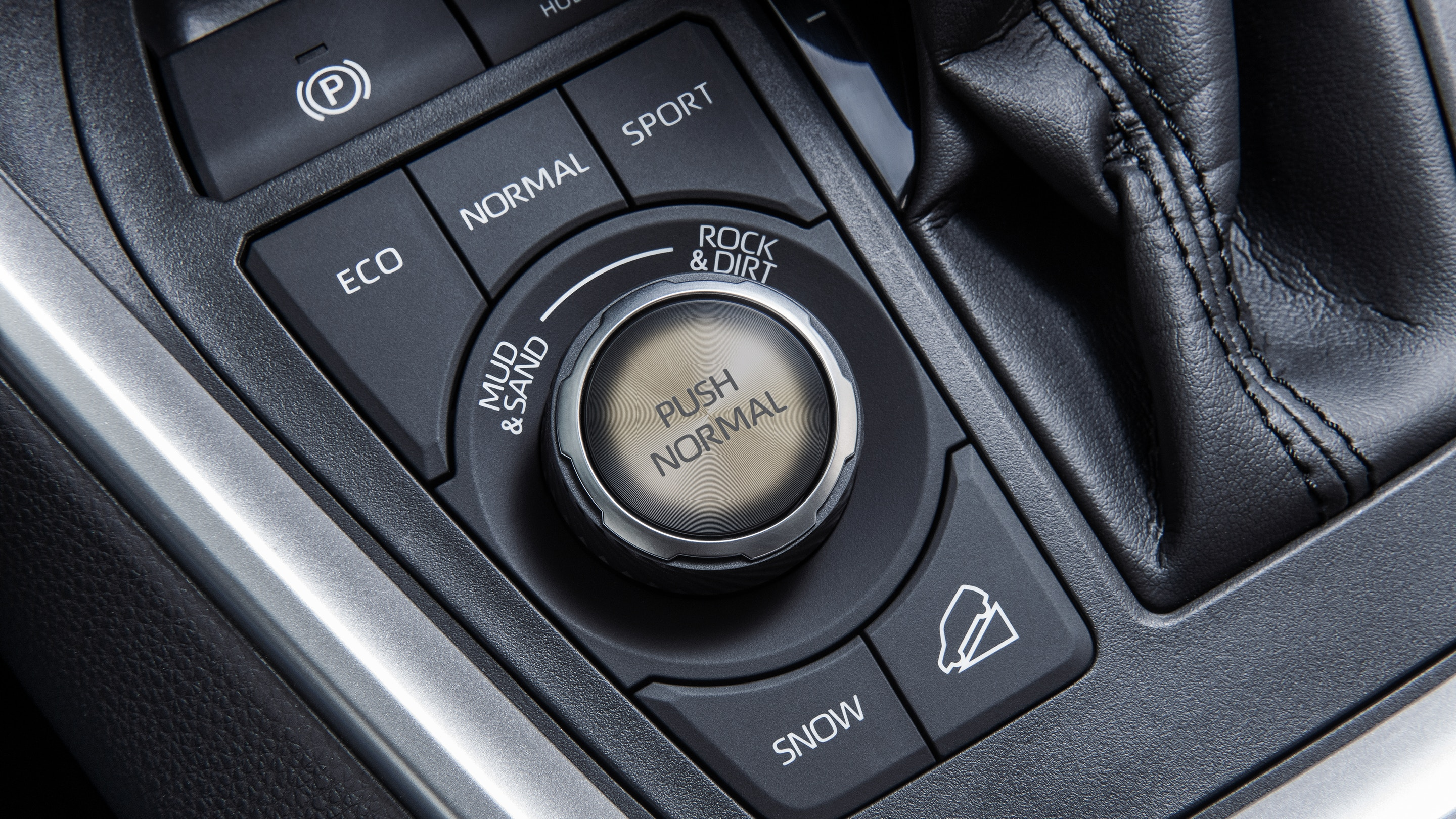 Select the Perfect Drive Mode Easily in the 2019 RAV4!