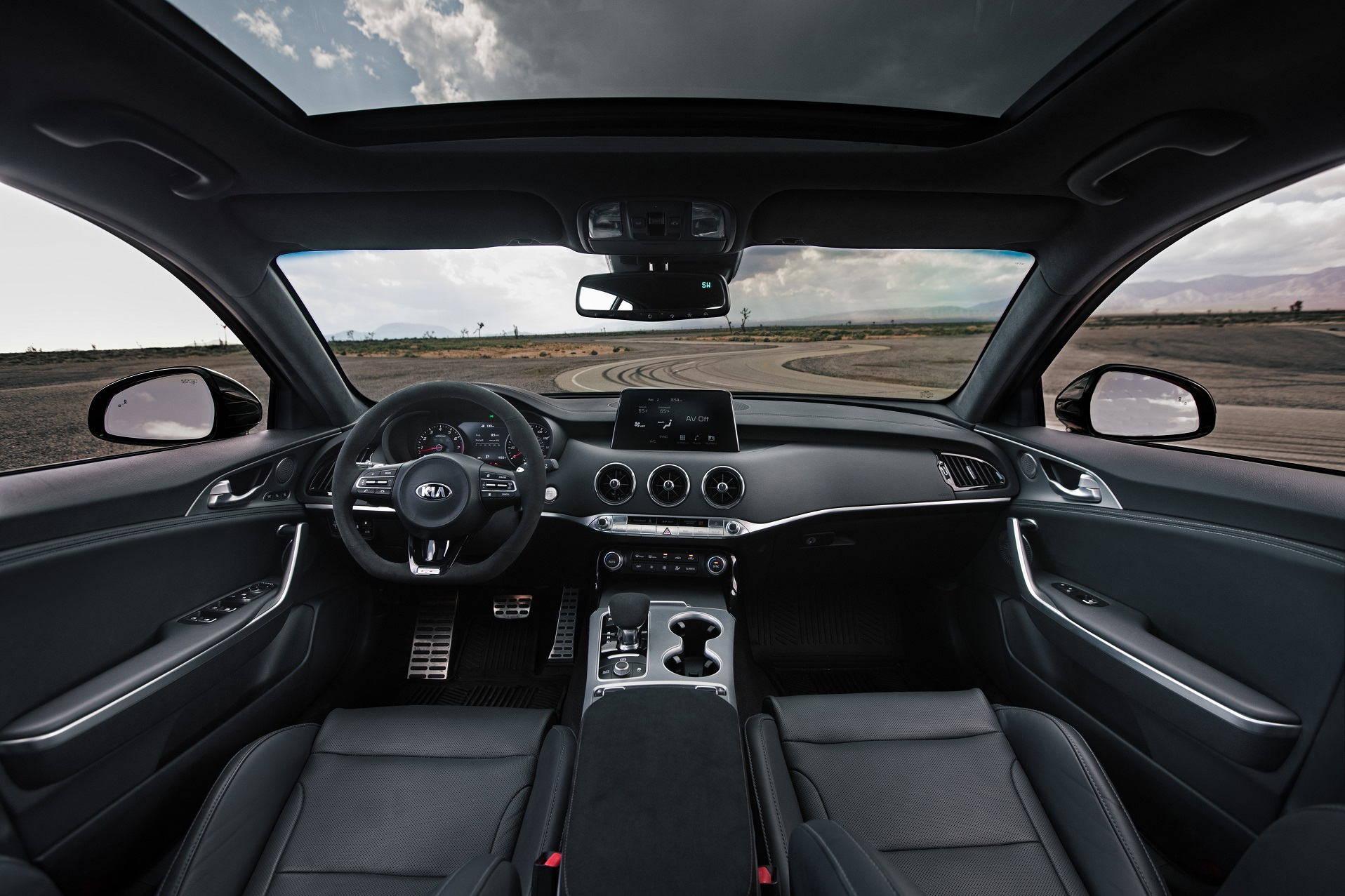 2020 Kia Stinger GT Interior