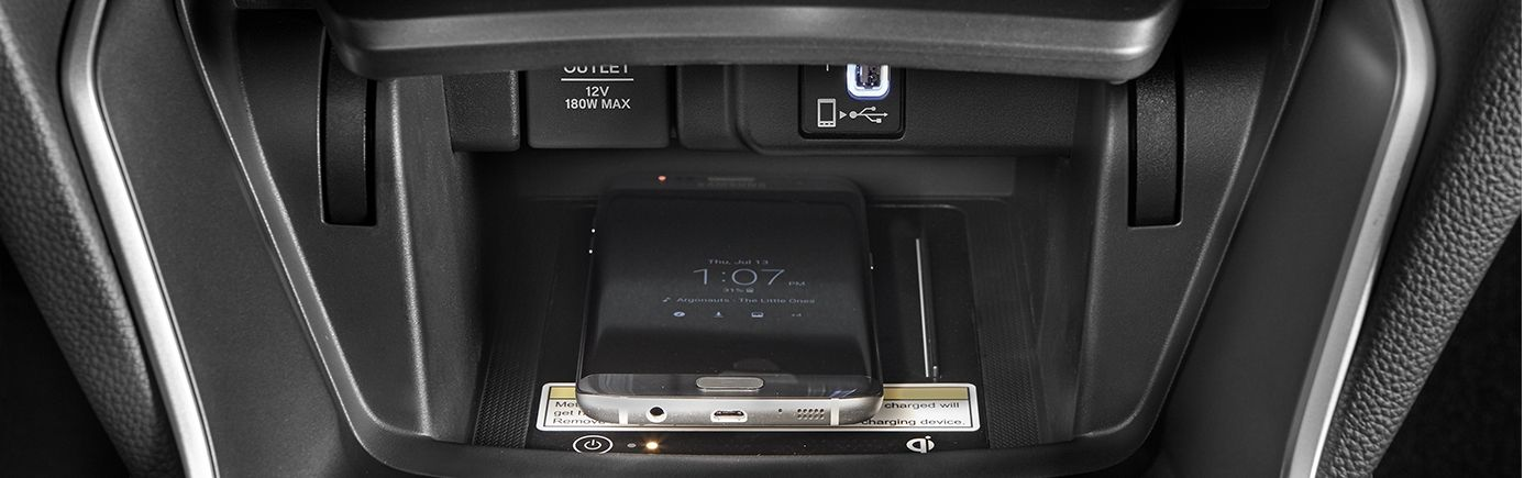Charging Options in the 2019 Accord