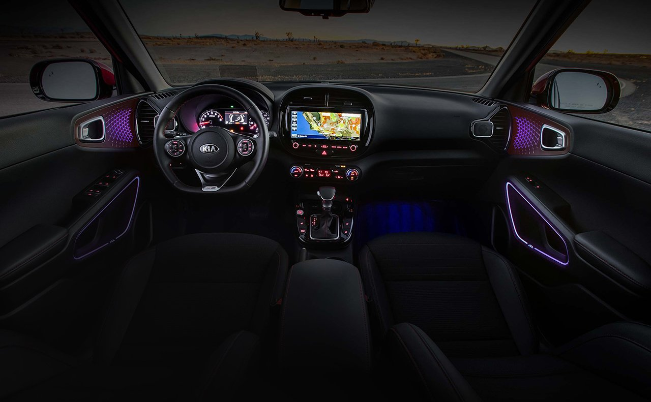 2020 Kia Soul Dashboard