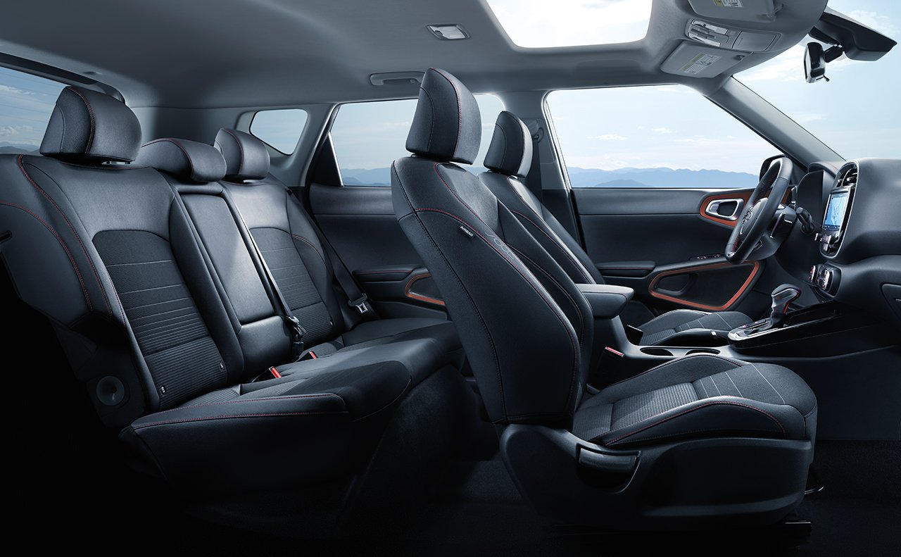 Spacious Cabin of the 2020 Kia Soul