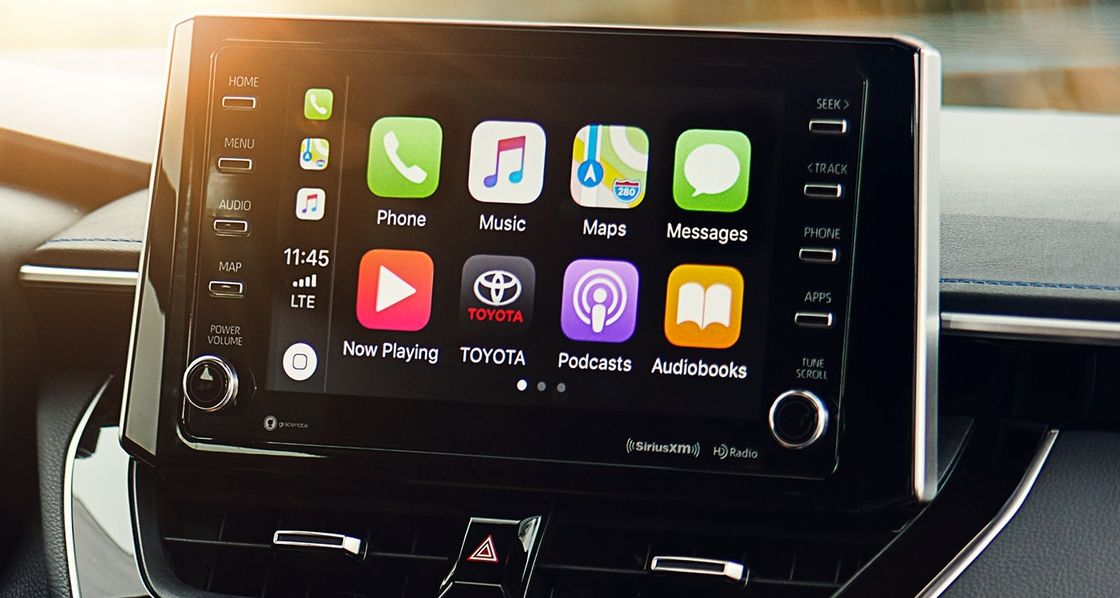 High-Tech Features in the 2020 Corolla!