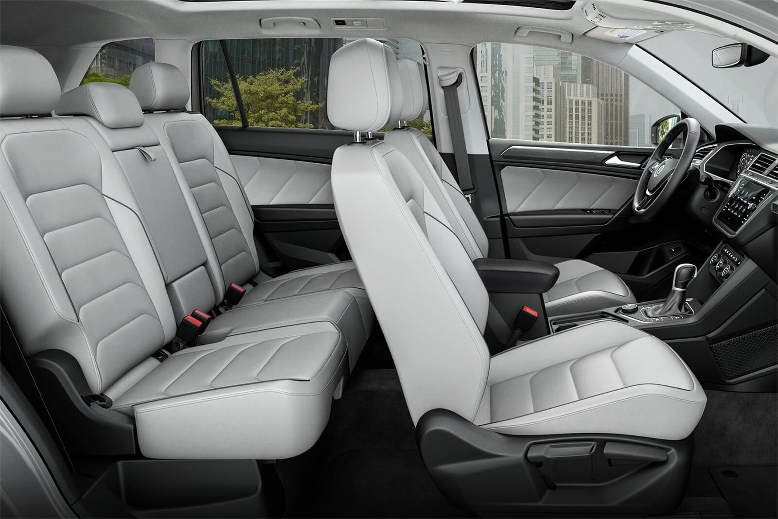 2019 Tiguan Full Seating
