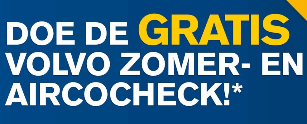 Gratis* Volvo Zomer- en Aircocheck bij Nieuwenhuijse