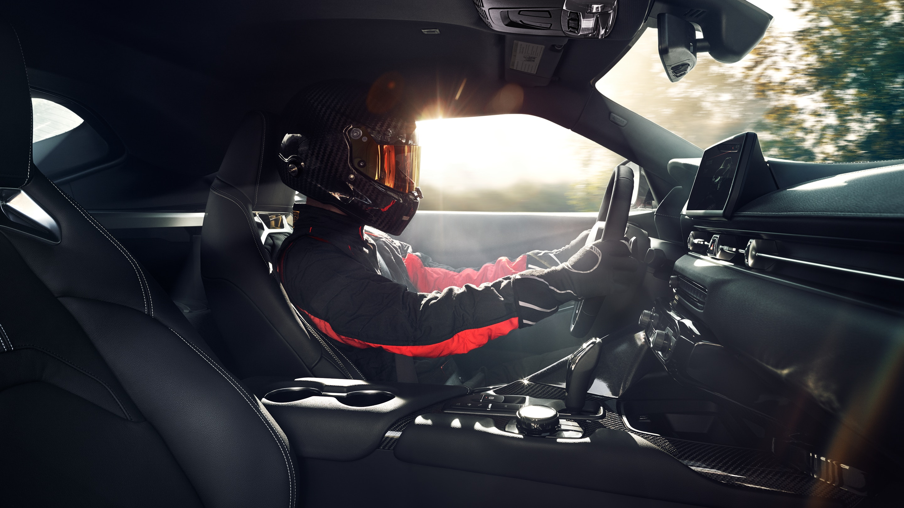 Sporty Interior of the 2020 Supra