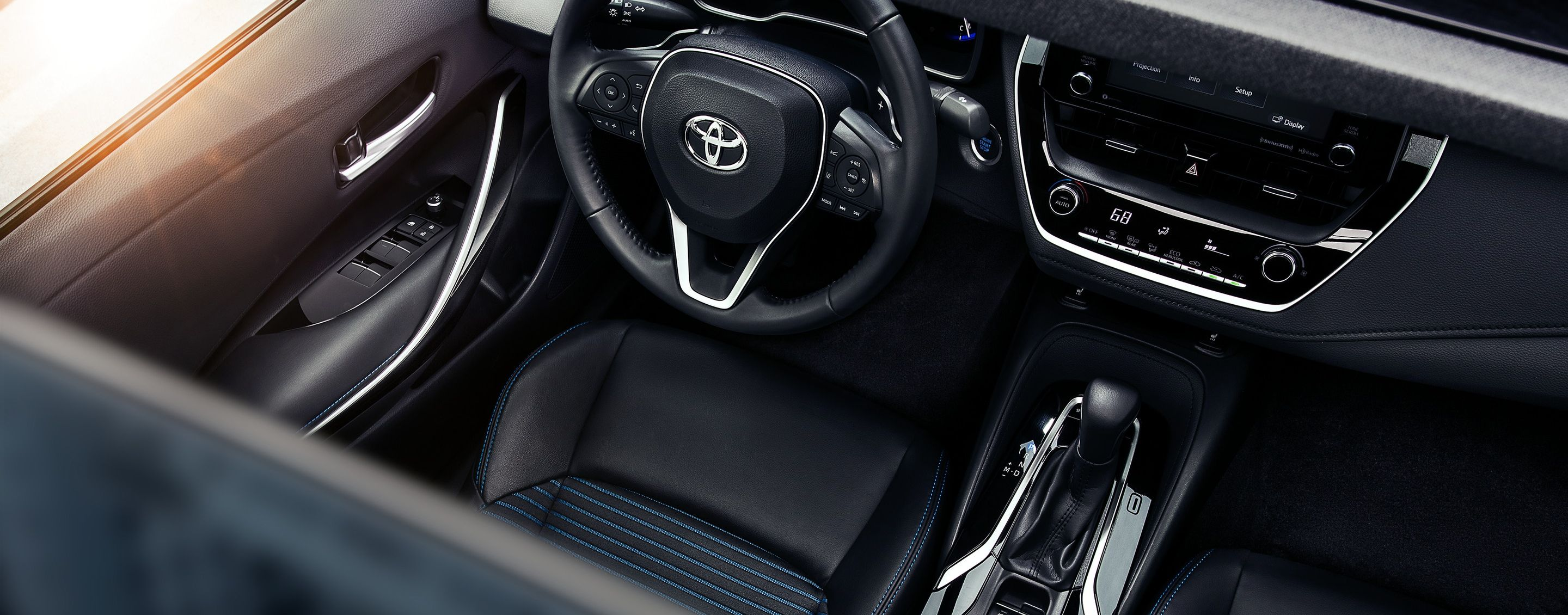 Cozy and Secure Cabin of the 2020 Toyota Corolla