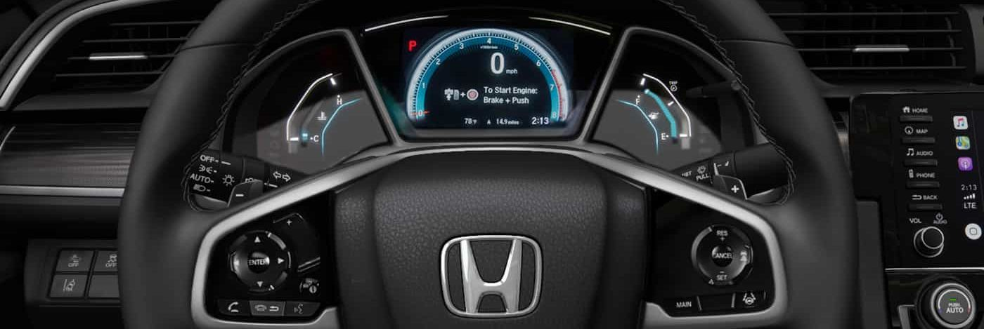 The 2019 Civic Is Loaded with Features!