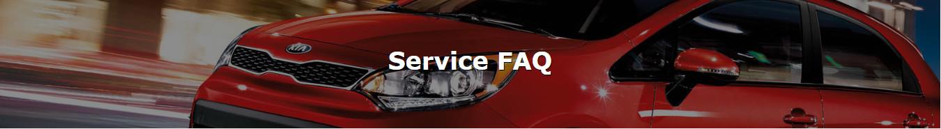 Service FAQ