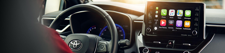 2020 Toyota Corolla Center Console