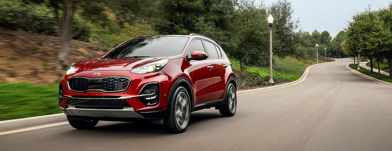 2020 Kia Sportage Lease Options in Omaha, NE