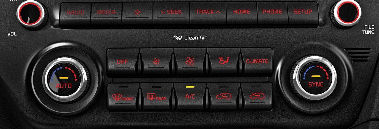 2020 Kia Sportage Console Details