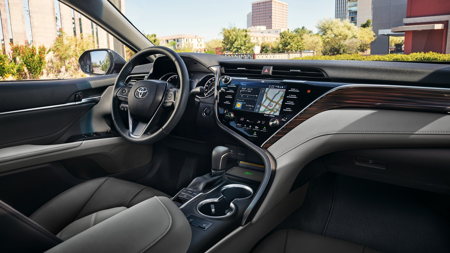 Interior of the 2019 Toyota Camry