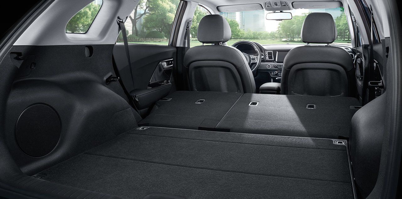 Take Advantage of the 2019 Niro's Large Cargo Area!
