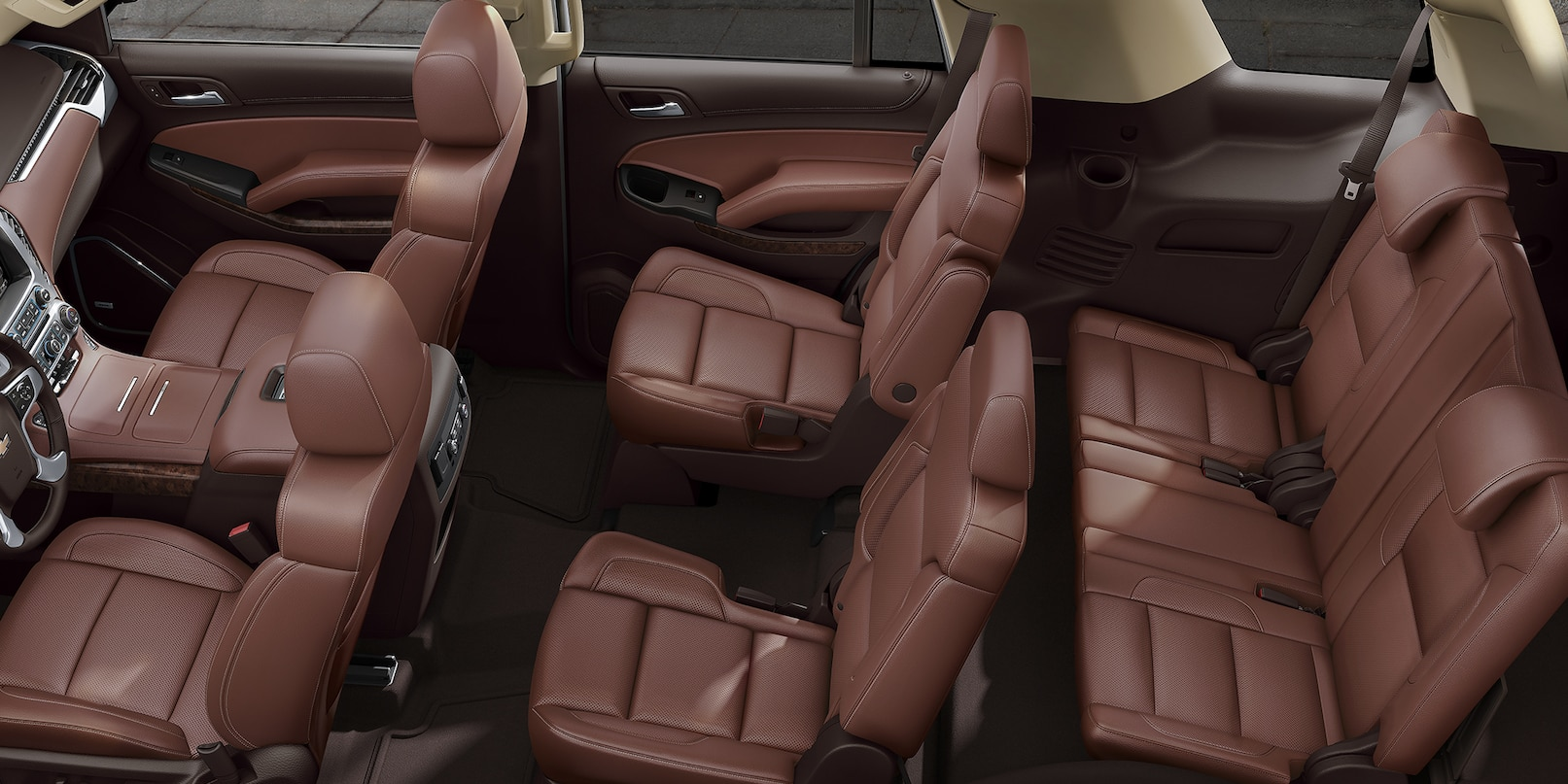 Plenty of Seating Inside the 2019 Chevrolet Tahoe!
