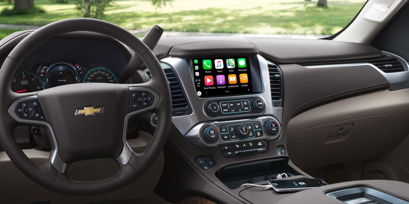 Multimedia Center in the 2019 Chevrolet Suburban