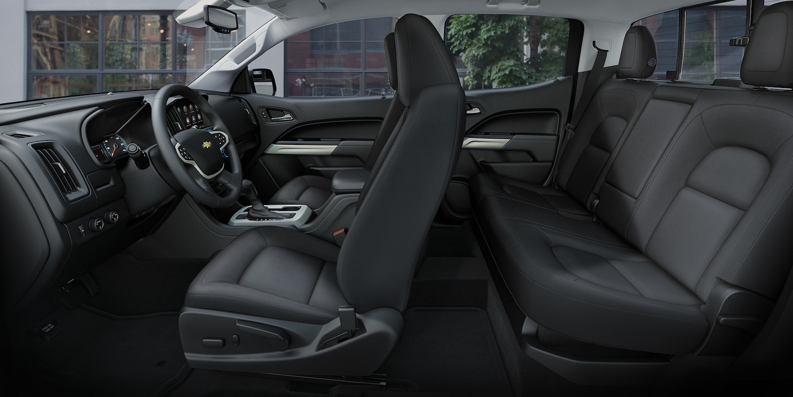 Sit Back And Relax in the 2019 Chevrolet Colorado