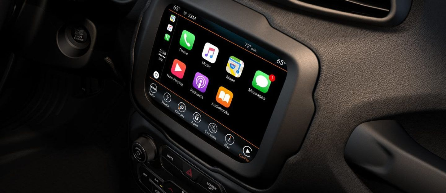 2019 Jeep Renegade Touchscreen