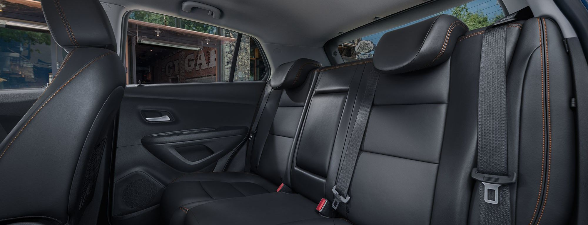 2019 Trax Rear Seating