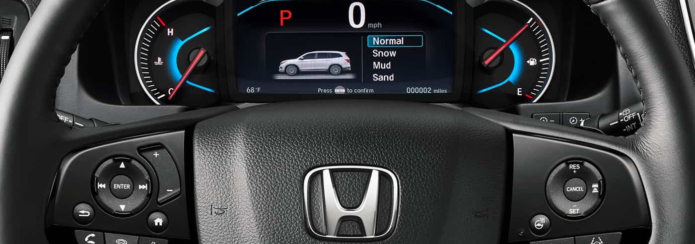 Instrument Cluster in the 2019 Honda Pilot