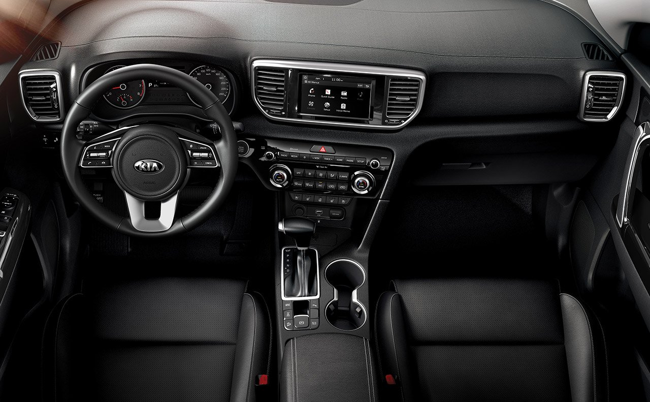 2020 Kia Sportage Center Console