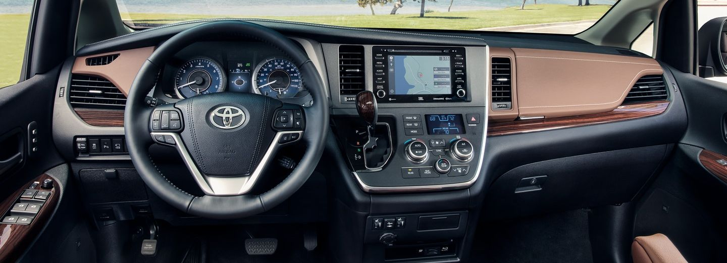 2020 Sienna Dashboard