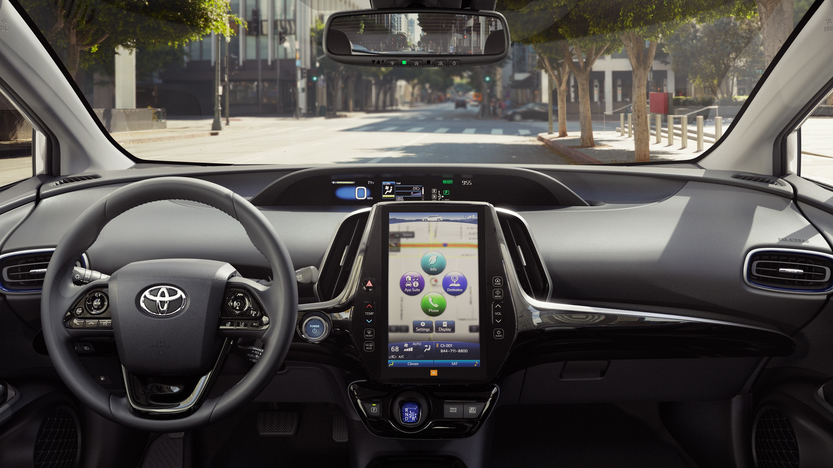 Tech Options in the 2019 Prius