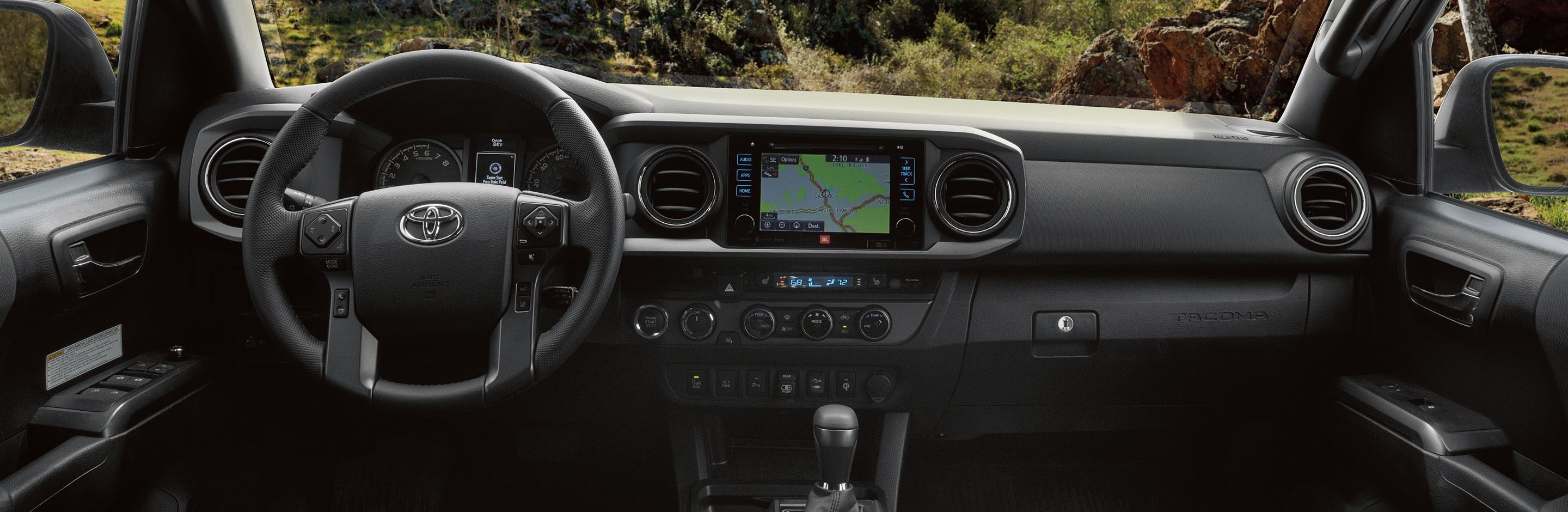 Interior of the 2019 Tacoma