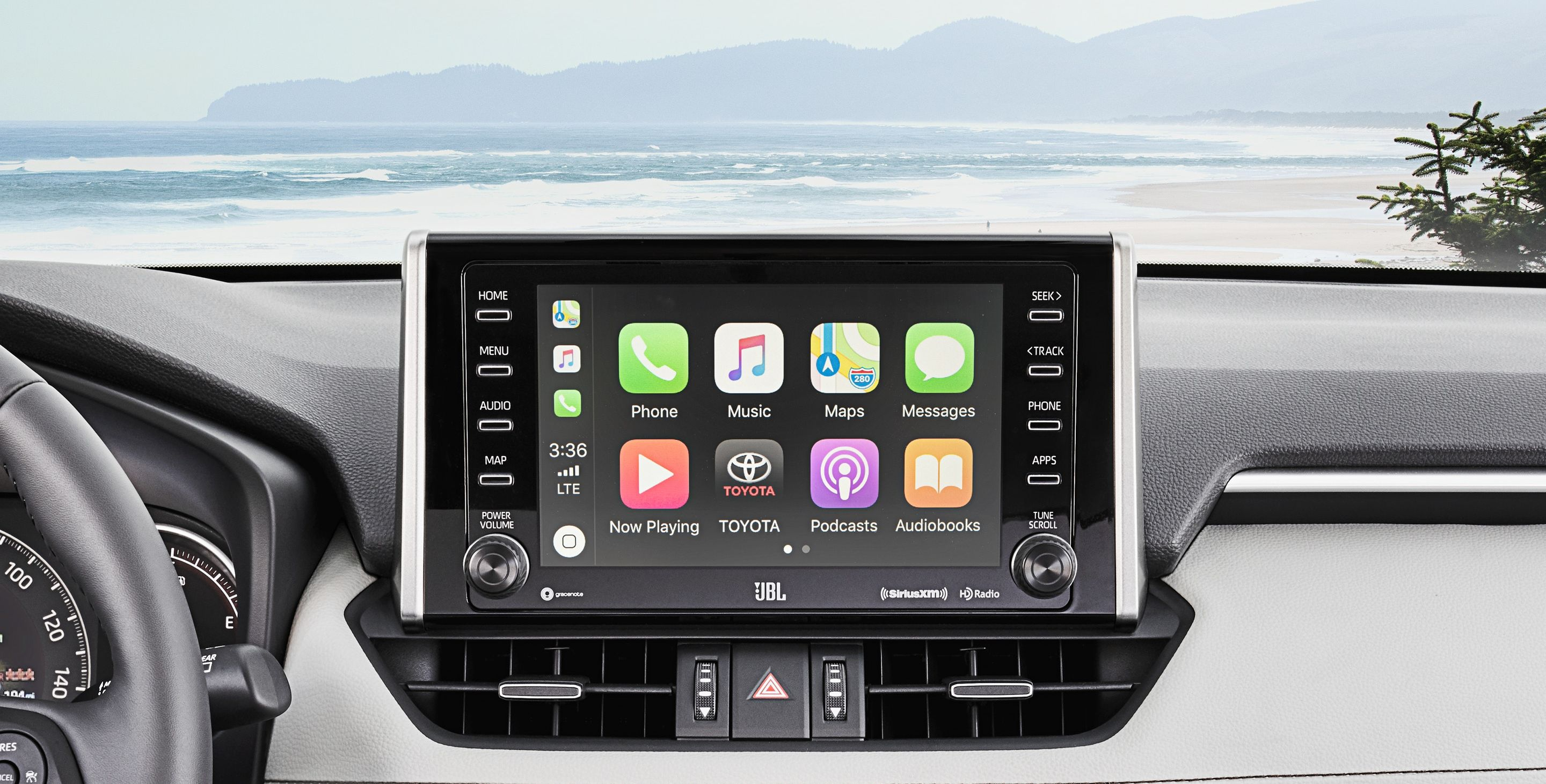 Apple CarPlay™ in the 2019 RAV4