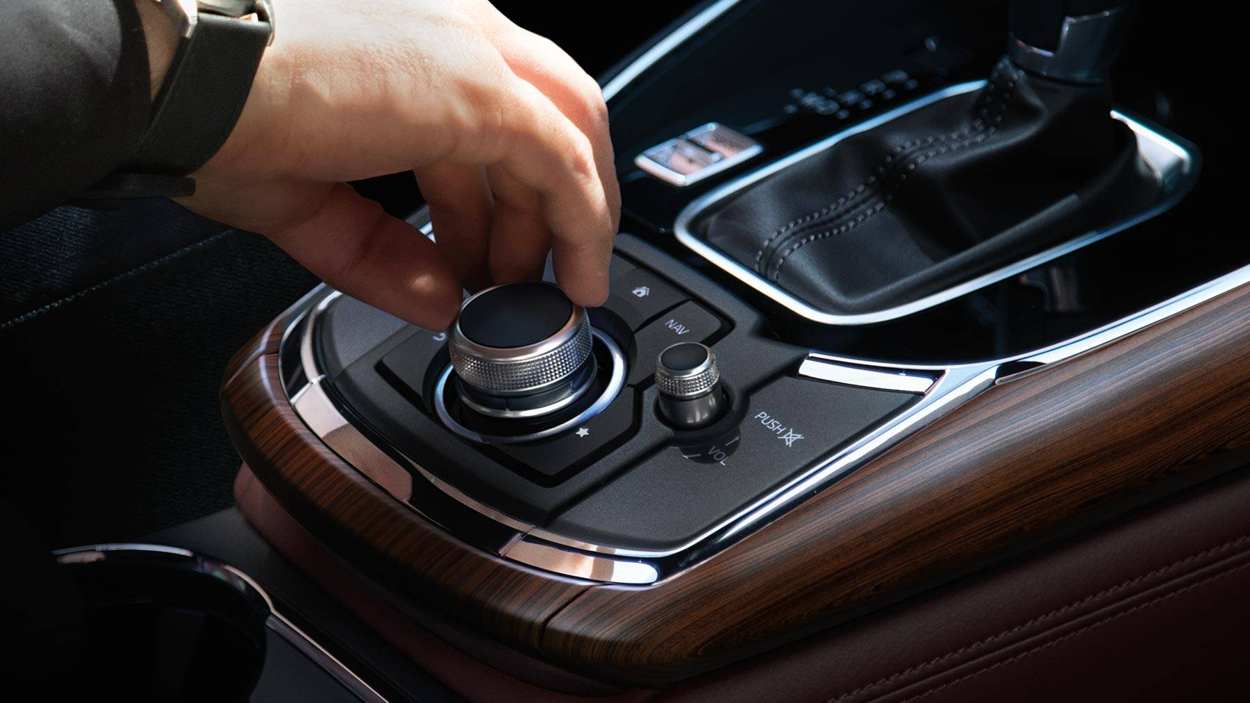 Conveniently Control Your Technology as You Cruise in the Mazda CX-9!