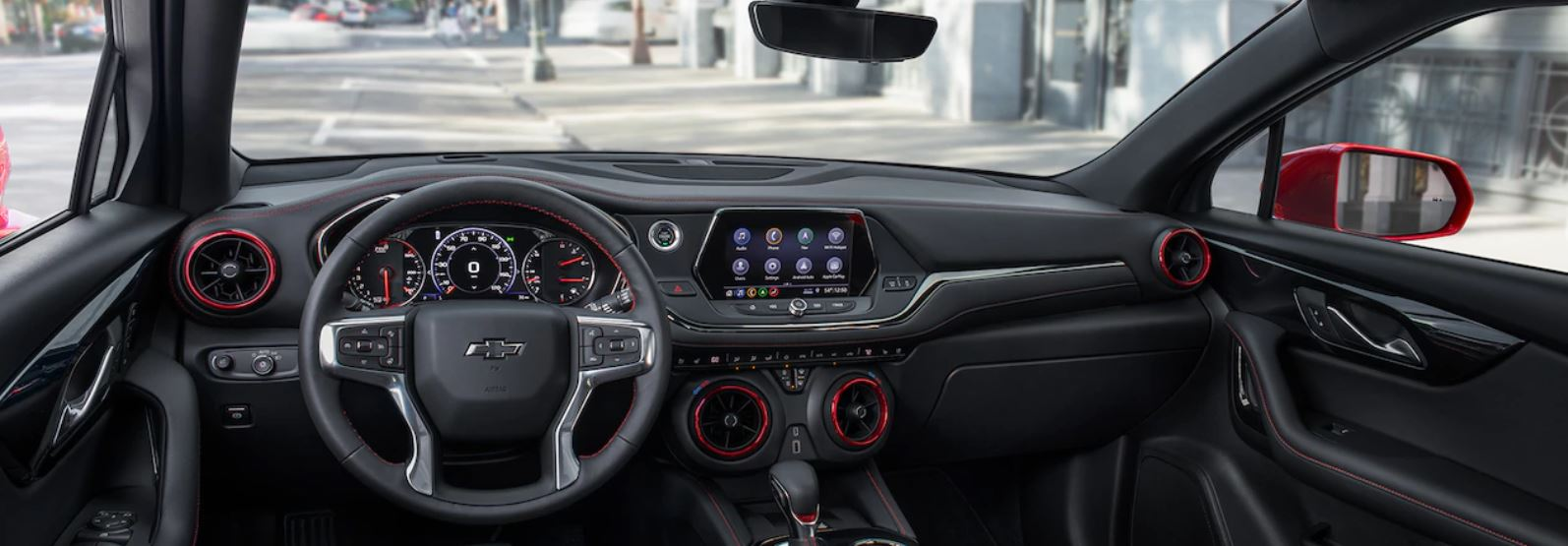 Interior of the 2019 Chevrolet Blazer