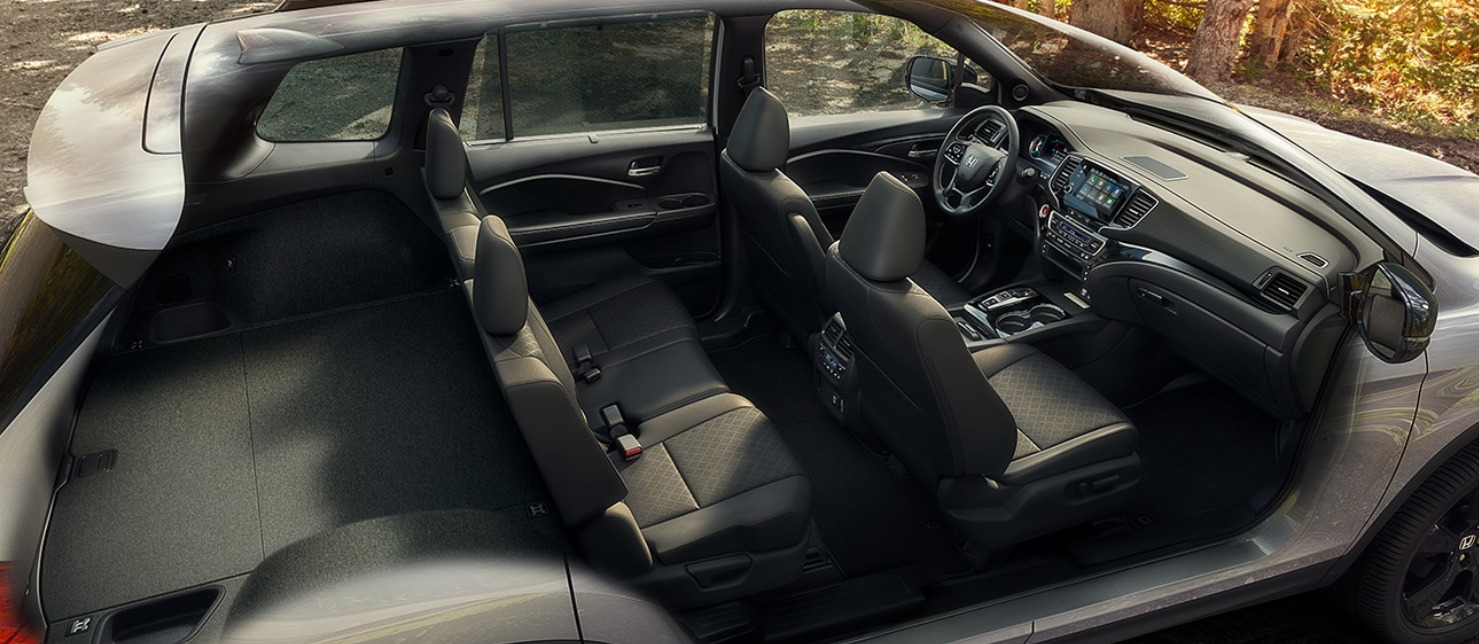 Plenty of Space in the 2019 Honda Passport!