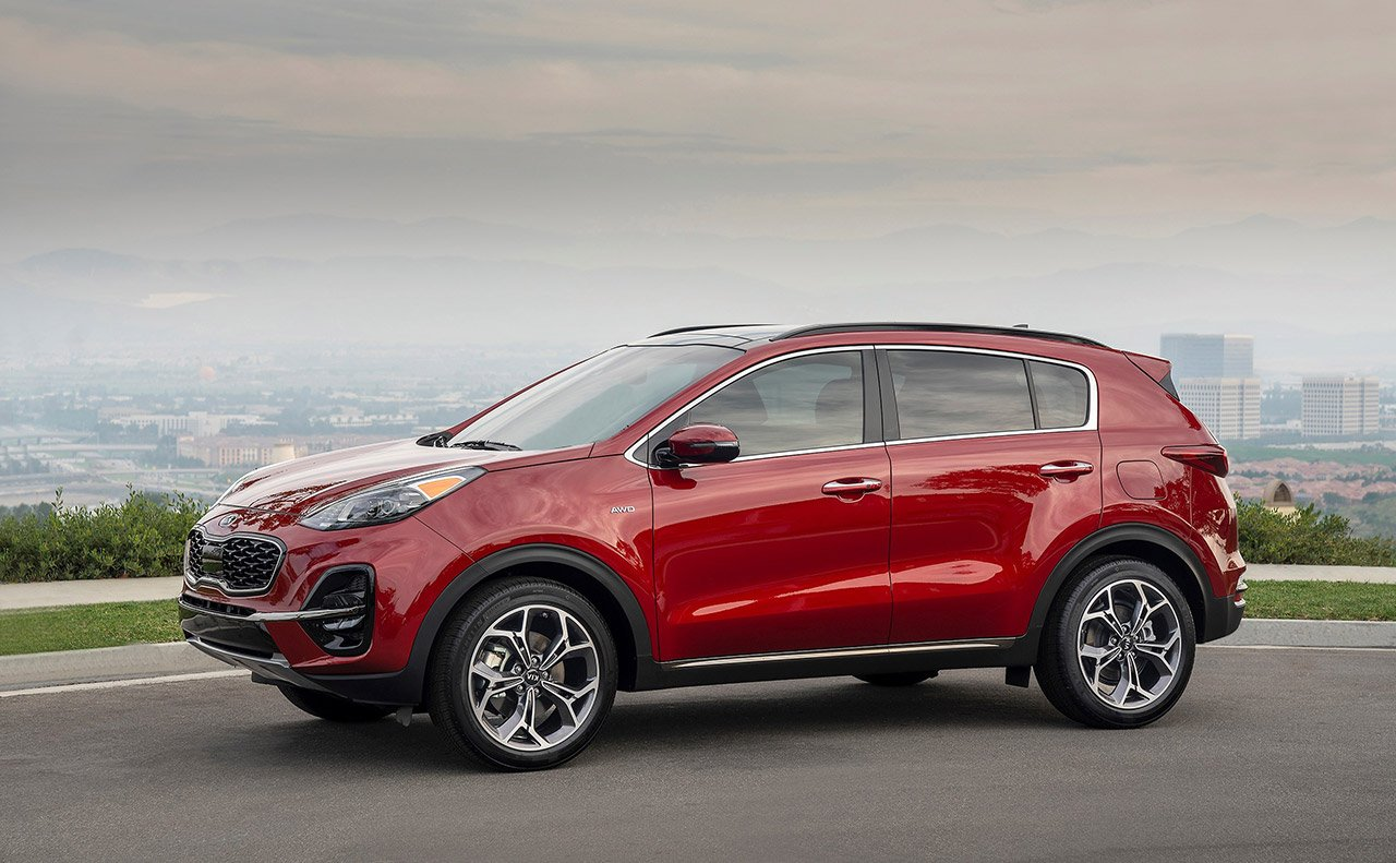 2020 Kia Sportage vs 2019 Honda CR-V near North County, CA