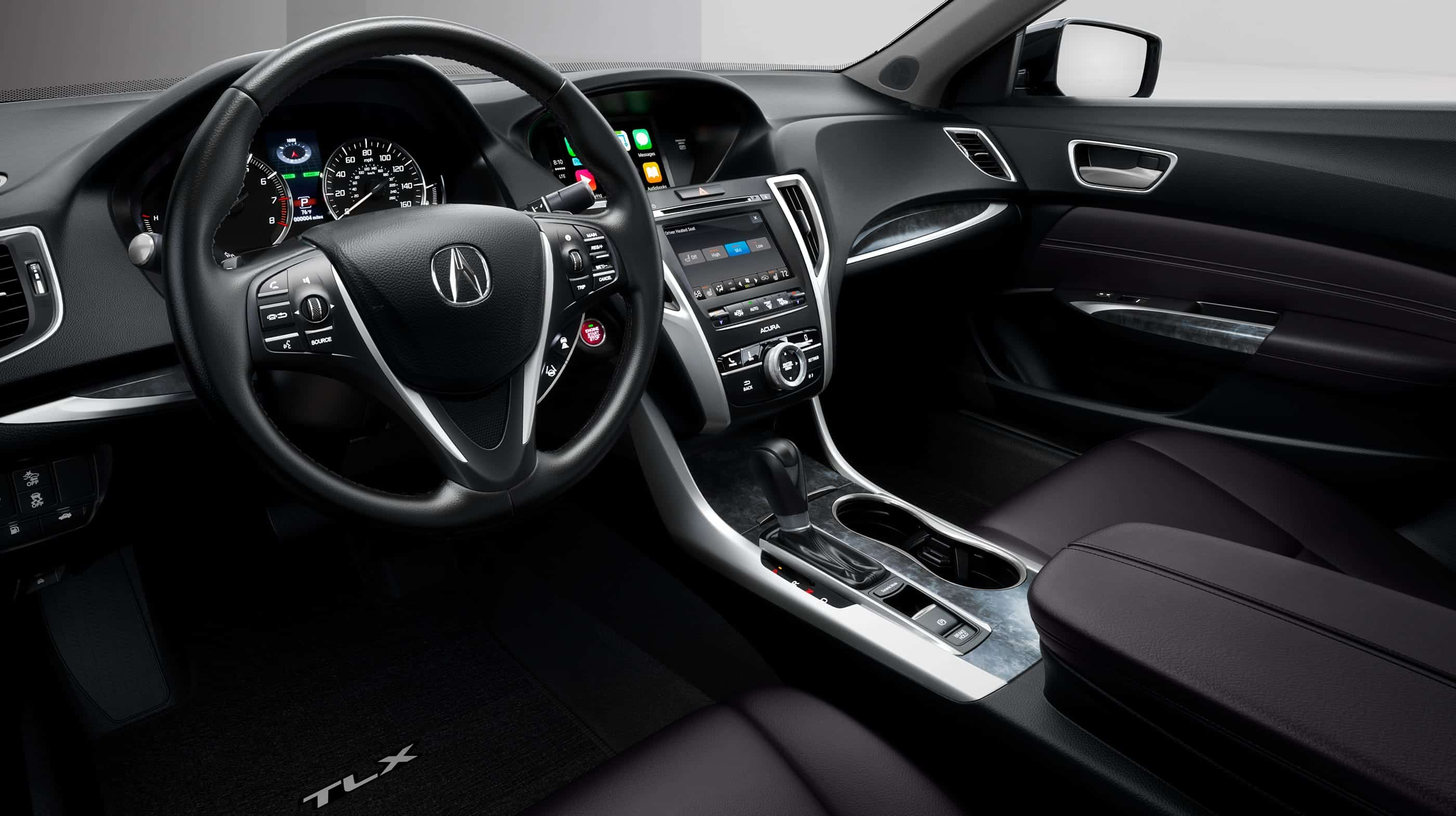 Interior of the 2020 Acura TLX