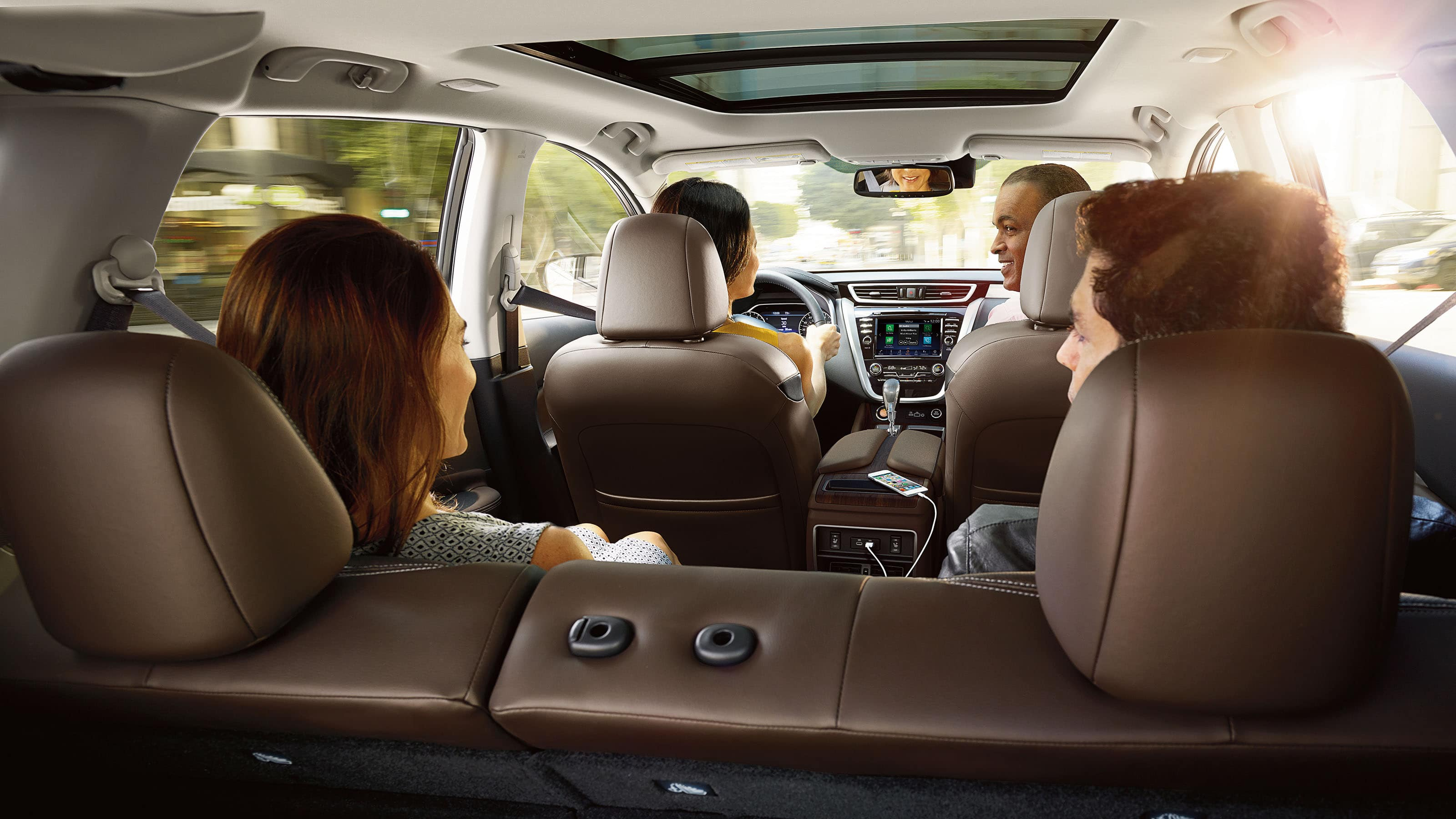 The Murano Was Built with Comfort in Mind!