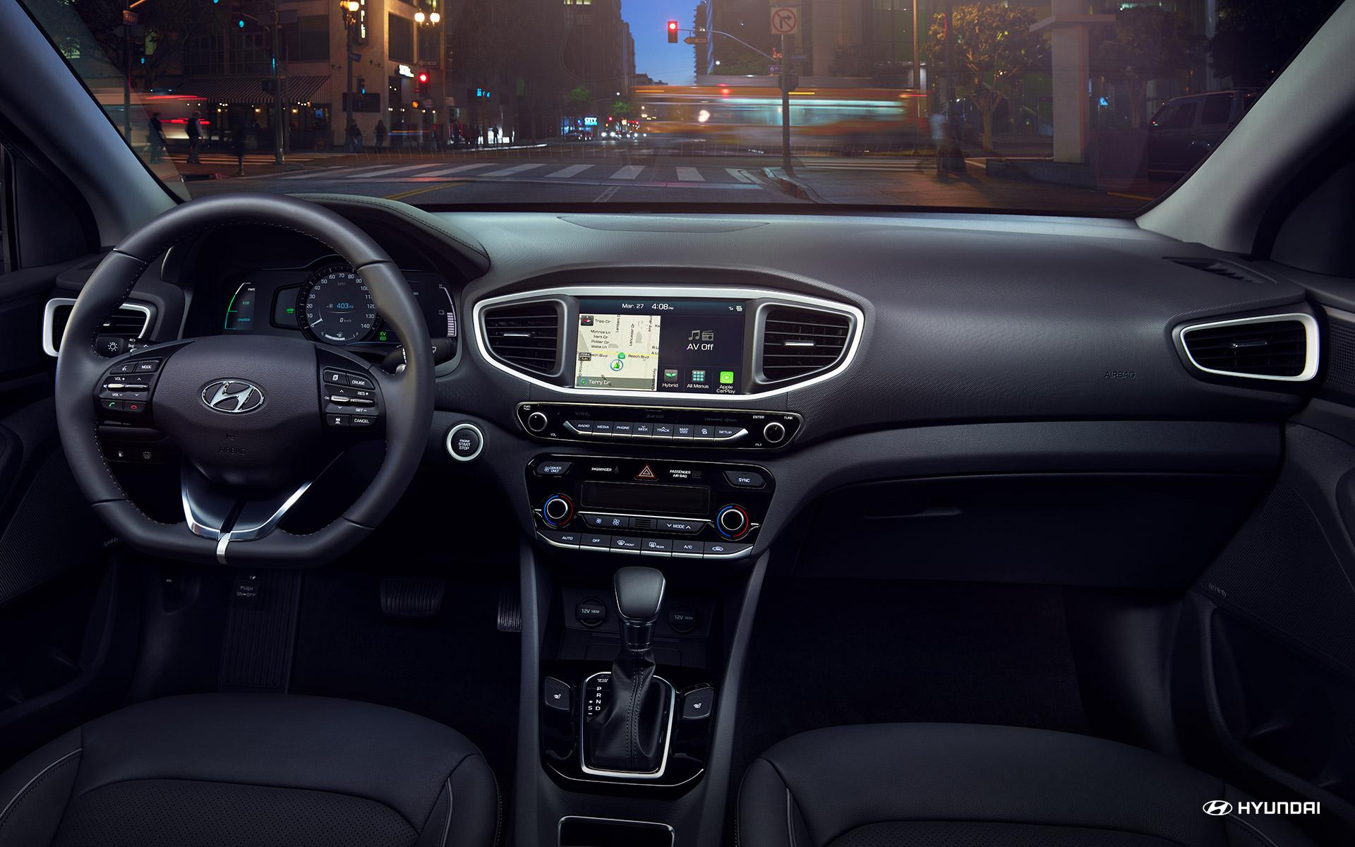 Engaging Interior of the 2019 Ioniq Hybrid