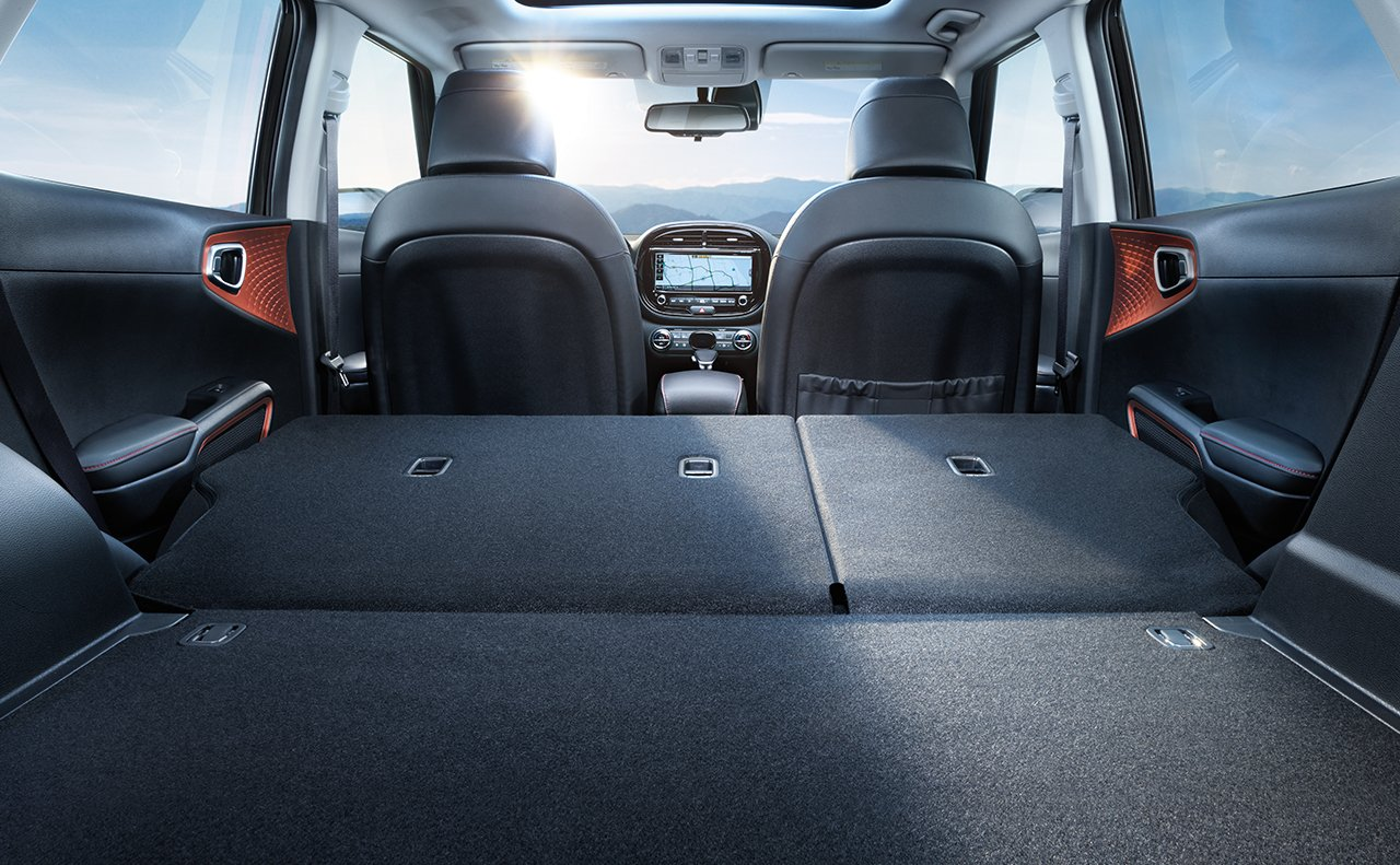 The Spacious Cargo Area of the 2020 Soul
