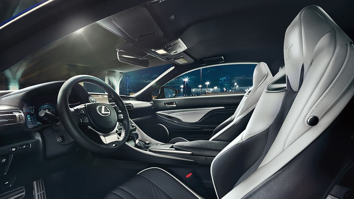 Advanced Cabin of the 2020 RC F