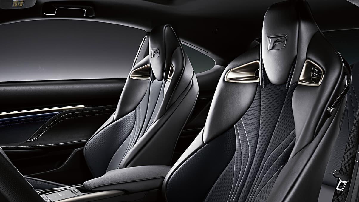 2020 Lexus RC F Sport Seats