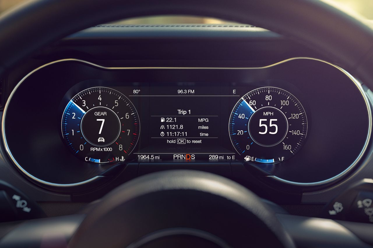 2019 Mustang Display