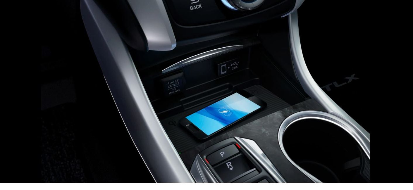 Charge Your Device Quickly in the 2020 TLX!