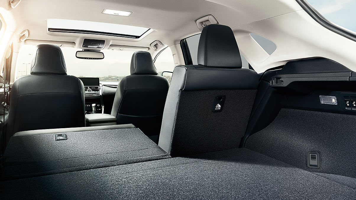 Storage Area of the 2020 NX 300
