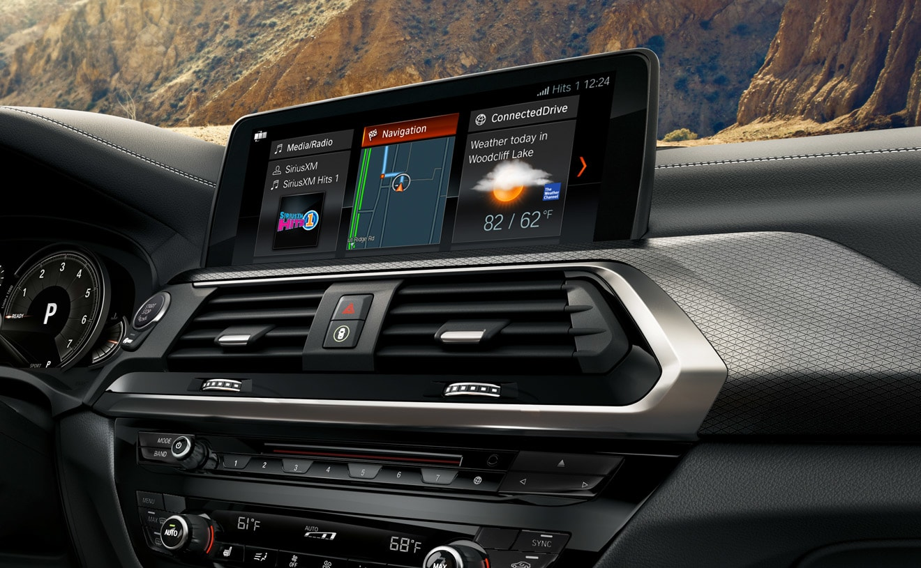 Touchscreen Display in the 2019 X3