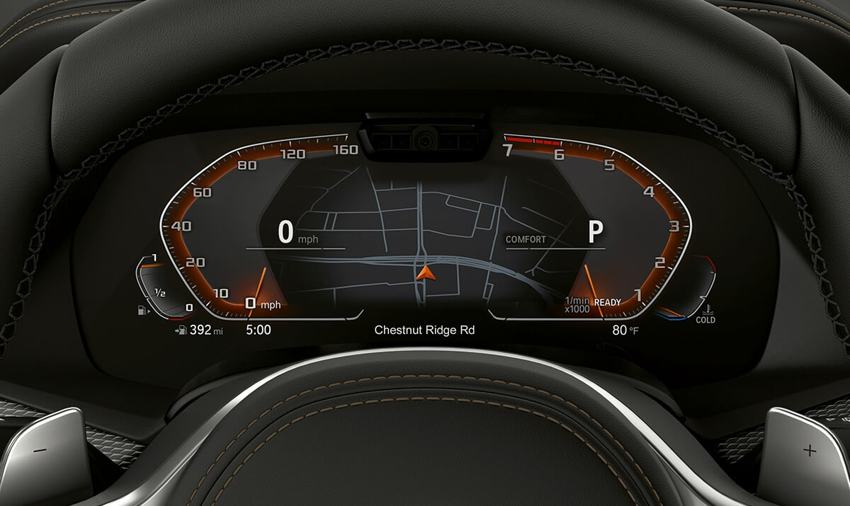 Instrument Panel in the 2019 X5