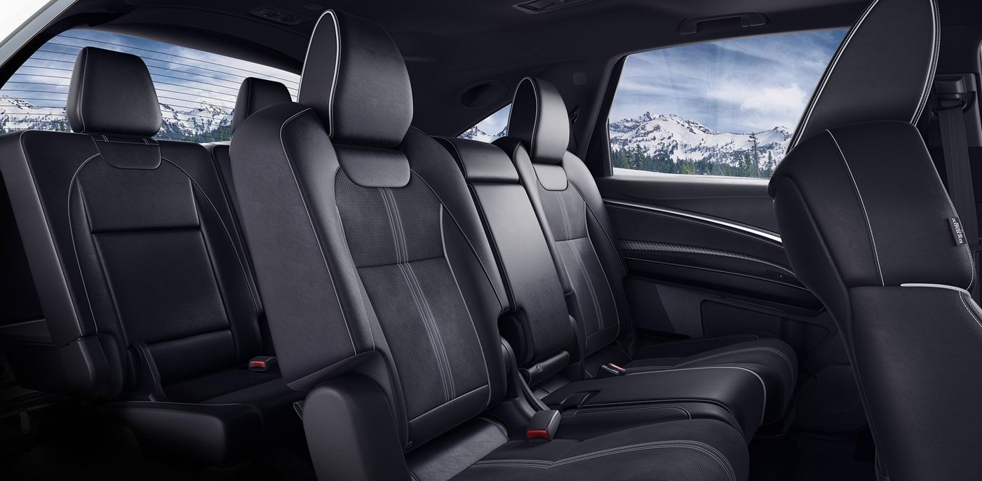 The Spacious Interior of the 2019 MDX