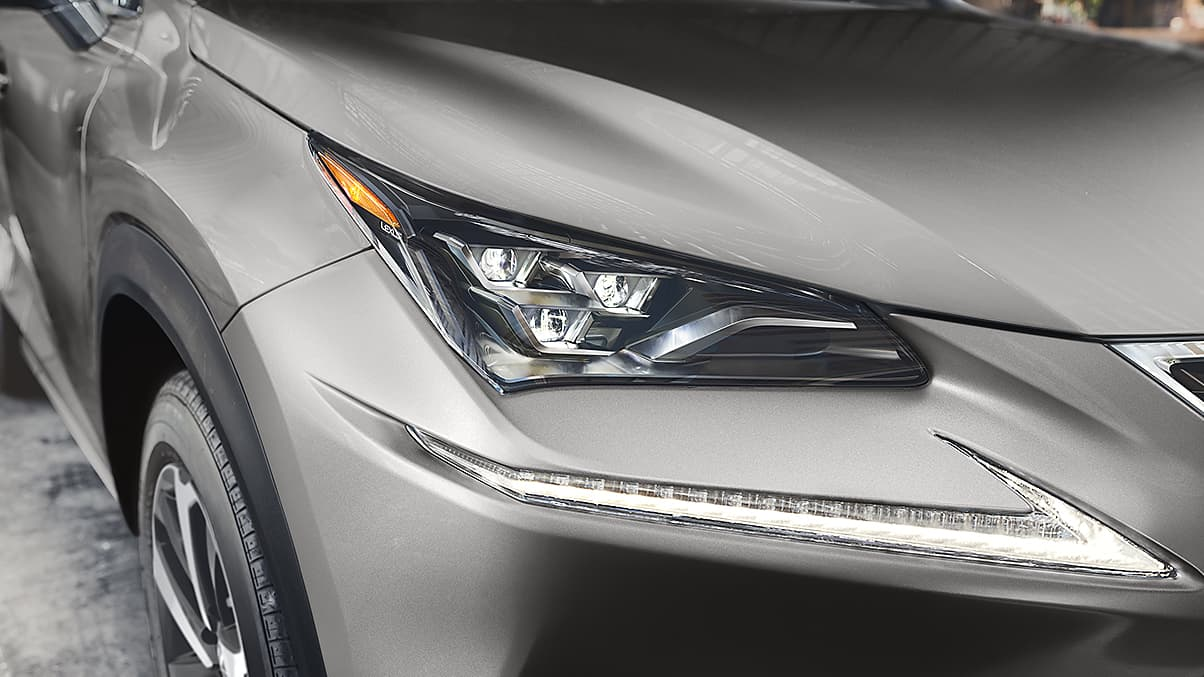Stylish Headlights of the 2020 NX 300