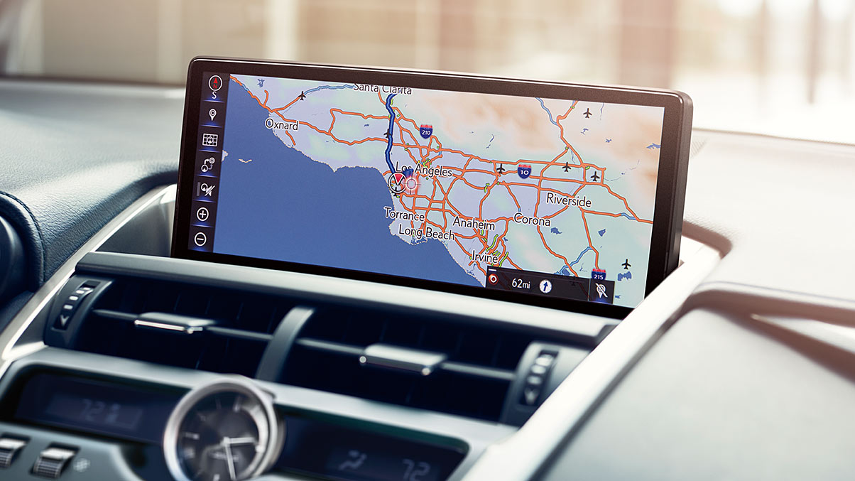 Optional Navigation in the 2020 NX 300h