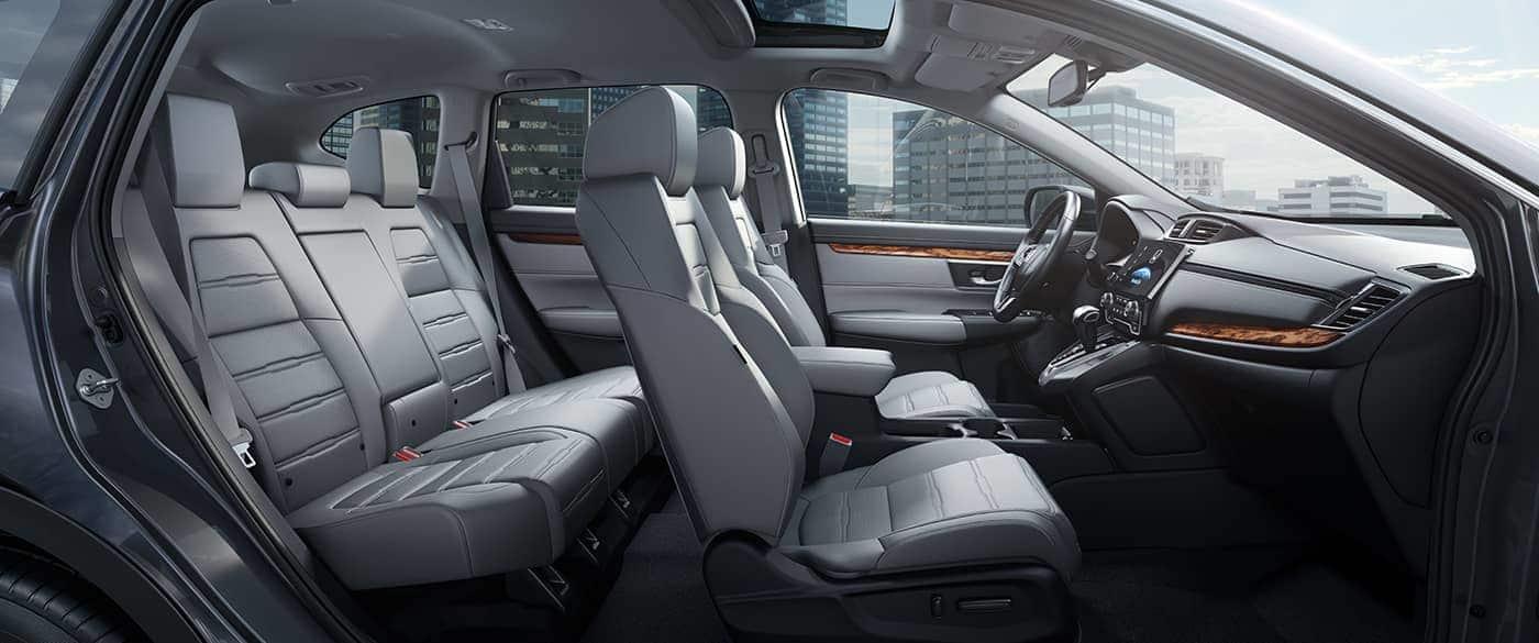 Interior of the 2019 CR-V