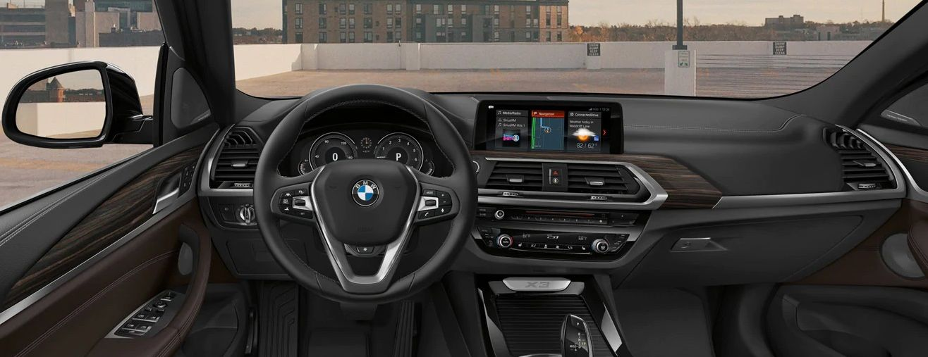 2019 BMW X3 Dashboard